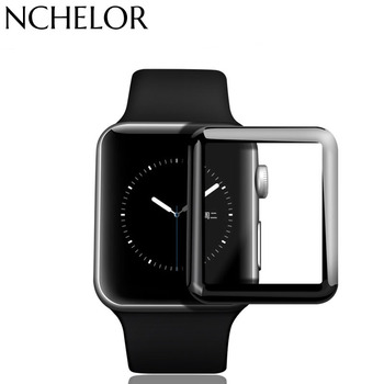 3D Kavisli Tam Kapsama Için iwatch Apple İzle Temperli Cam Koruyucu Film Serisi 1/2/3 38mm 42mm iWatch apple watch band 82467