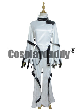 Code Geass CC Cosplay Beyaz Womens Code Geass Cosplay Kostüm 8582
